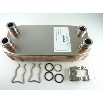 Vaillant DHW heat exchanger 12 plate 065131 superseeds 065107