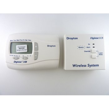 DRAYTON  Digistat +2 RF 24 hour programmable wireless room thermostat RF700