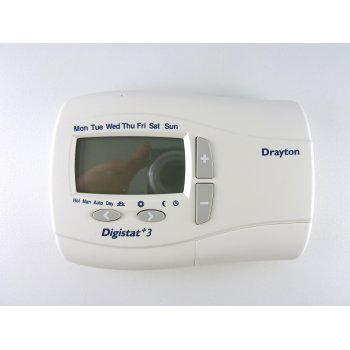 Drayton Digistat +3 7 day or 5/2 day programmable battery room stat 22083