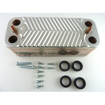 IDEAL  Isar HE35 DHW plate heat exchanger 173545 prior to prefix XF