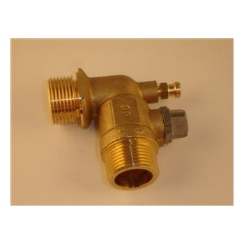 Baxi Solo 3 30-80 PF & PFL G3/4in Angled Water Valve 240806