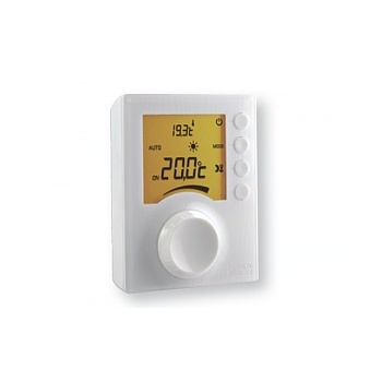 Delta Dore Tybox 31 hard wired digital room thermostat with temp dial 6053001