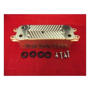Glow Worm 20 plate DHW heat exchanger 0020014403