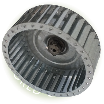 Nu Way ST120 fan wheel impellor 120mm x 42mm 8mm shaft B7601