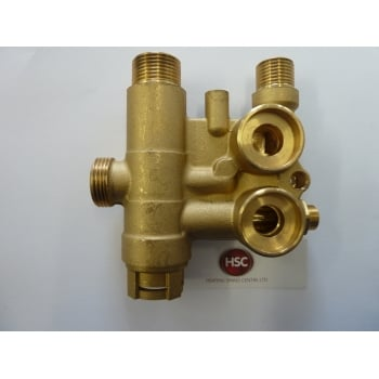 BAXI  brass flow valve assy without bypass 720789401