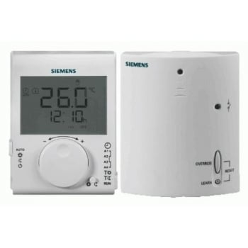 SIEMENS  RDJ100RF programmable wireless room thermostat replaces RDJ10RF