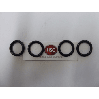 IDEAL  Logic, Isar, Esprit, I-mini & Independant Pack Of 4 Heat Exchanger O-rings 174898
