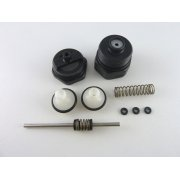 Heatline diverter valve black nut & spindle kit D003202082 was 3003202082