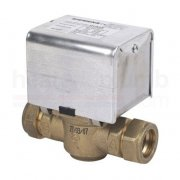Siemens CZV222 2 port 22mm motorised valve