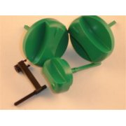 Vaillant Thermocompact/Turbomax Green knobs (pack of 3) 114286