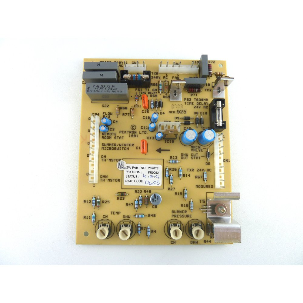 Gloworm Express 80 PCB S202078 - Glow Worm from Heating